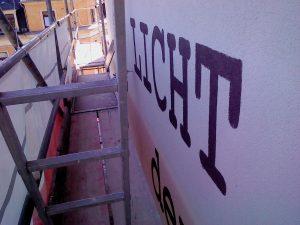 Work in progress - Wandbild